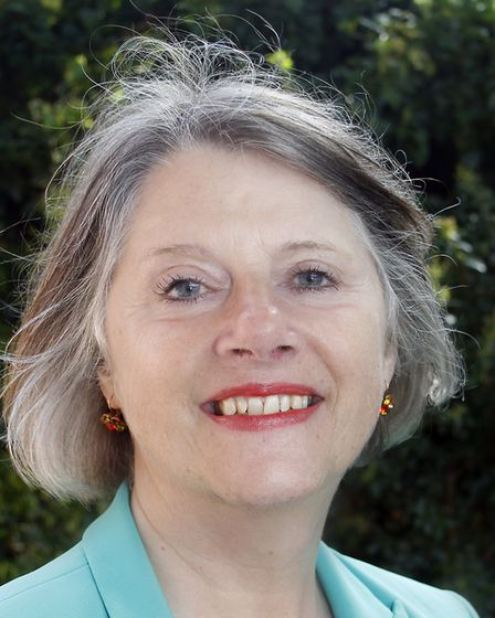Suzie Morley, who has become the new leader at Mid Suffolk District Council. Picture: MID SUFFOLK DI