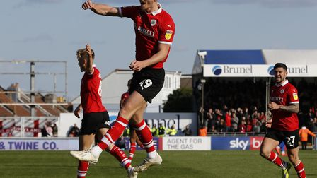 Kieffer Moore scored 19 goals for Barnsley as they finished second in League One. Photo: PA