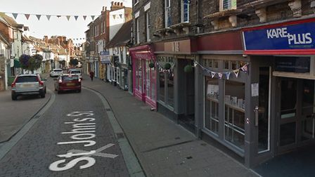 The Snug in St John's Street, which has been reopened as The Tavern on St John's Picture: GOOGLEMAP