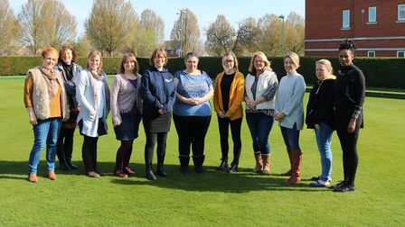 Staff at Suffolk Family Carers Picture: SUFFOLK FAMILY CARERS