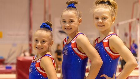 Pipers Vale stars Aaliyah Manning, Ellie Cornforth and Grace Wardley. Picture: PAVEL KRICKA