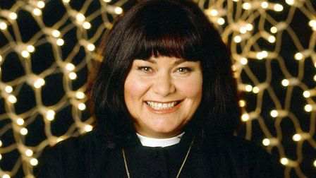 Dawn French as Geraldine Granger in the Vicar of Dibley. Picture: BBC/PA Wire