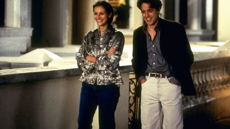 Julia Roberts and Hugh Grant in Notting Hill by Richard Curtis. Photo: Working Title