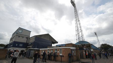 Southend United's Roots Hall will be Ipswich Town's shortest trip in League One. Photo: PA
