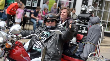 Bikers joined the parade Picture: SARAH LUCY BROWN
