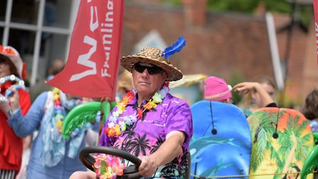 Framlingham Gala was filled with colourful costumes Picture: SARAH LUCY BROWN