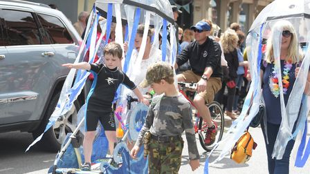 The sun came out for the annual Framlingham Gala Picture: SARAH LUCY BROWN