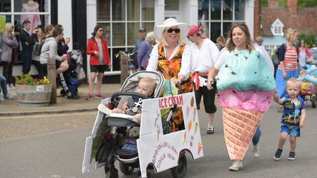 People of all ages took part in the parade Picture: SARAH LUCY BROWN
