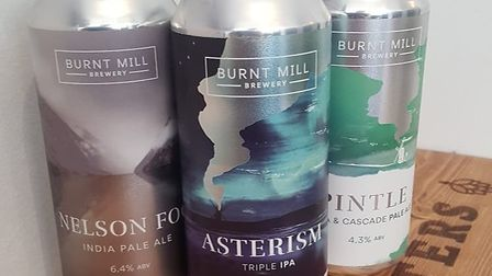 Burnt Mill has a new beer out and it's Ed Barnes' pick of the month Picture: Ed Barnes