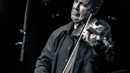Nigel Kennedy's show was also a sell out Picture: BURY FESTIVAL