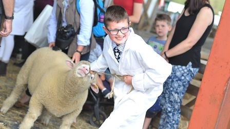 The new generation of farmers at the Suffolk Show 2019 Picture: SARAH LUCY BROWN