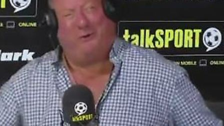 Alan Brazil insisted that Ipswich Town are still a bigger club than Norwich City on his Talksport br
