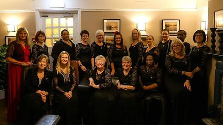 The Colchester Military Wives have previously performed at an NBA game at London's O2 Arena. Picture