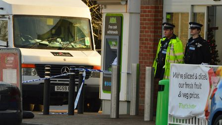 Stephen Smith has been jailed for 20 years for his role in the raid on a security van at Asda in Wit