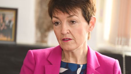Jo Churchill warned that a new Prime Minister would not solve Brexit problems. Picture: GREGG BROWN