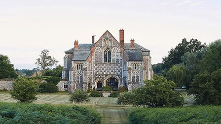Butley Priory is now available for people to rent on Airbnb. Photo: FABIAN BLASCHKE