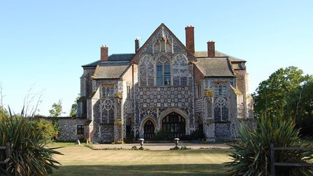 Butley Priory – magical 12th century Abbey. Picture: AIRBNB