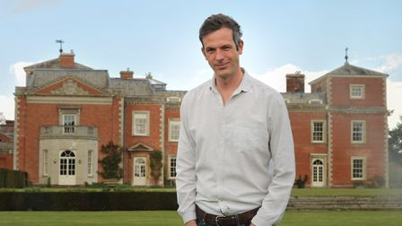 Harry Grafton, 12th Duke of Grafton in the grounds of Euston Hall. Picture: SARAH LUCY BROWN