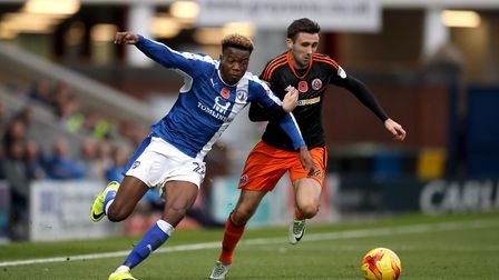 Daniel Lafferty (right) has been let go by Sheffield United. Photo: PA