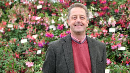 Mike Clare from Potash Nurseries Picture: SARAH LUCY BROWN