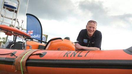 Steve Saint from the RNLI Picture: SARAH LUCY BROWN