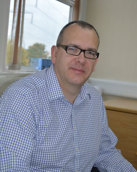 Paul Morton, Sizewell B station director Picture: EDF ENERGY
