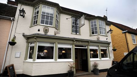 The Swan in Long Melford, which has been acquired by Atalian Servest Picture: GREGG BROWN