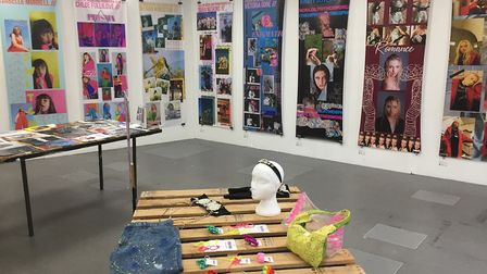 Students showcased their art and design work at the VeXeD festival at West Suffolk College Picture: