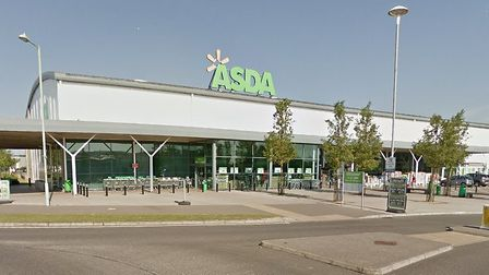 Asda in Bury St Edmunds - one of the major supermarkets which will be open over the bank holiday. Pi