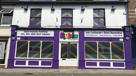Playing feel-good music from the 70s, 80s and 90s, Rubix on Crouch Street Colchester will be open fo