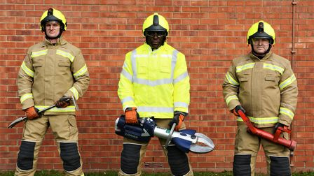 Suffolk County Council says the new kit is more lightweight, comfortable and tailored Picture: SUFF