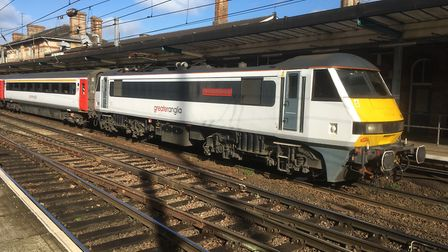 The first fast trains will be hauled by existing Intercity stock. Picture: ARCHANT