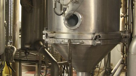 Muntons' current evaporator plant used in the production of malt extract Picture: ANDY JANES
