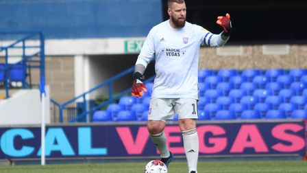 Former Town goalkeeper and current kit man James Pullen Picture: ROSS HALLS