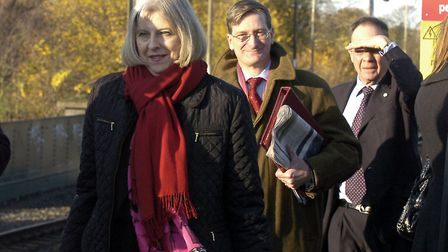 Theresa May visited Ipswich in 2011 as Home Secretary when the government visited the BT offices at