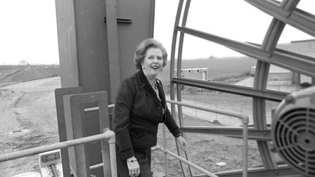 She was taken around all the different structures around the docks in Felixtowe while on the campaig