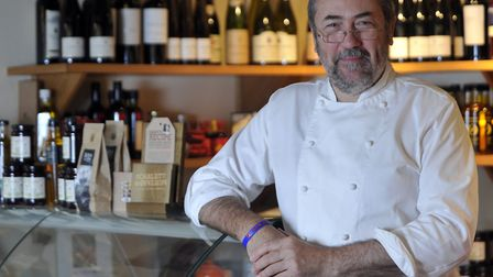 David Grimwood is the chef proprietor of the Froize Inn in Chillesford.