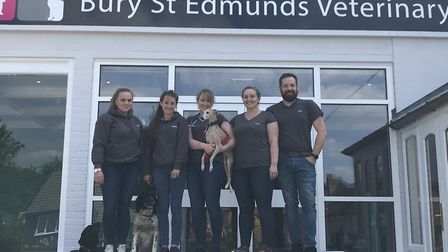 Bury St Edmunds Veterinary Centre has opened to the public. Left to right Boo Griffiths, Ashlee Swon