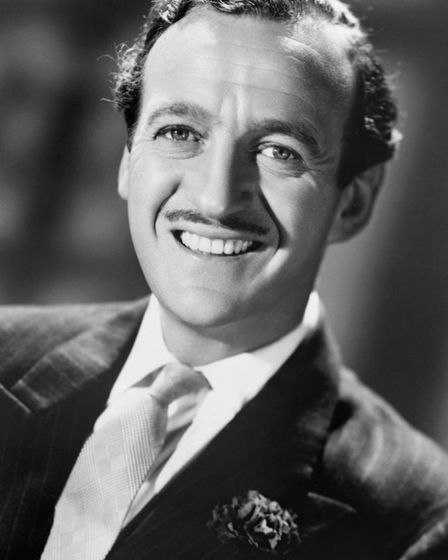 David tried the Niven looks as well. It didn't take