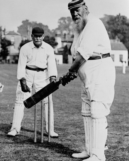 Or why not go for the full WG Grace. Everybody else seems to be, says David