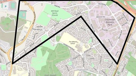 The dispersal order on the Severalls industrial estate also covers surrounding roads in Colchester,