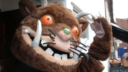 The Gruffalo is coming to the arc shopping centre in Bury St Edmunds this June Picture: ARCHANT