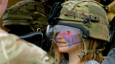 Suffolk Show visitors can explore military helicopters and equipment in the Military Discovery Zone
