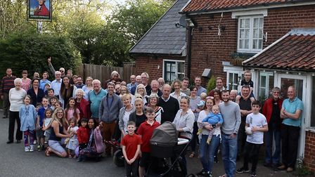 A campaign to save The Marquis Cornwallis, in Chedburgh, from closure has gained support Picture: MA