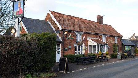 The Marquis of Cornwallis pub in Chedburgh.