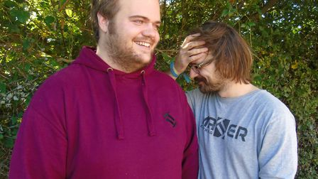 From left, Matter Clothing directors Charlie and George Yapp Picture: MATTER CLOTHING