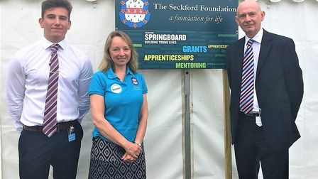 A free careers event hosted by the Seckford Foundation will be at the Suffolk Show Sport+ Area on We
