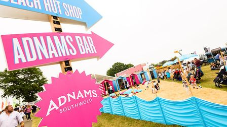 Have lunch on the 'beach' at Suffolk Show Picture: SAA