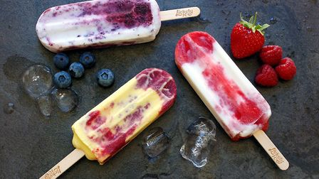 Lickety Ice will be at Suffolk Show with their tasty natural ice lollies Picture: Lickety Ice