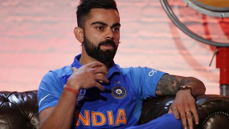India's Virat Kohli will lead one of the best sides in the World Cup. Picture: PA SPORT